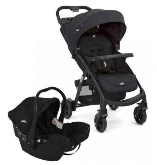 Carrinho com Bebê Conforto Travel System Muze Preto - Joie