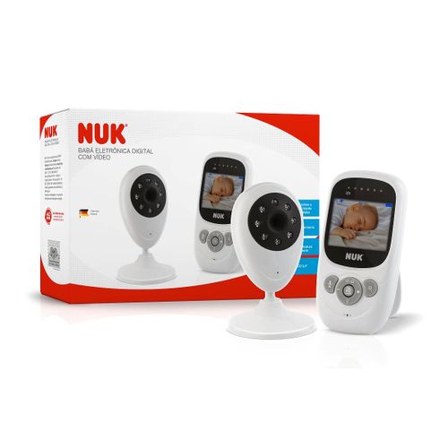 Babá Eletrônica Digital com Câmera e Tela - NUK