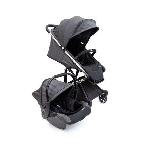 Carrinho Com Bebê Conforto Travel System Legend - Infanti