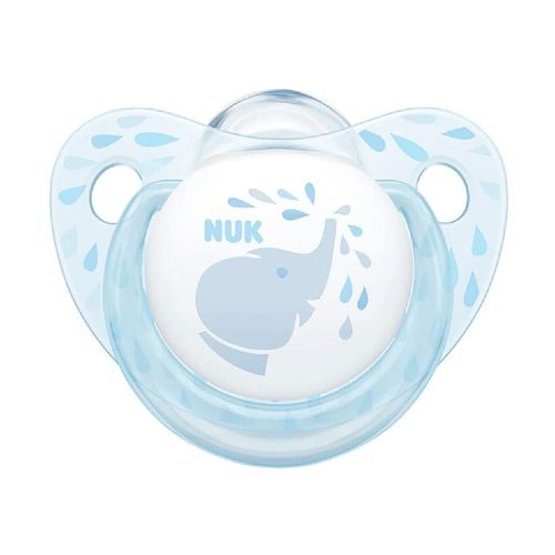 Chupeta Bico de silicone Decorada 0 a 6 meses Azul - NUK