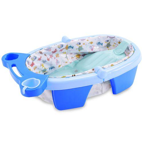 Banheira de Bebê Inflável e Portátil AirPlus MaxiBaby - Azul