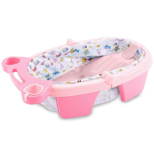 Banheira de Bebê Inflável e Portátil AirPlus MaxiBaby - Rosa
